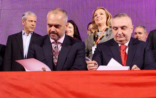 Marrëveshja e koalicionit PS-LSI u nënshkrua me insistimin e Serbisë, në përvjetorin e Masakrës së Tivarit
