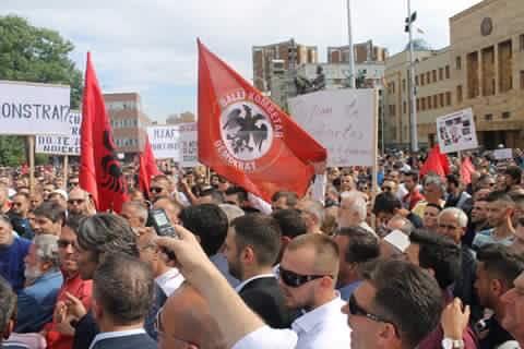 Balli Kombëtar Demokrat në qytetin e Shkupit