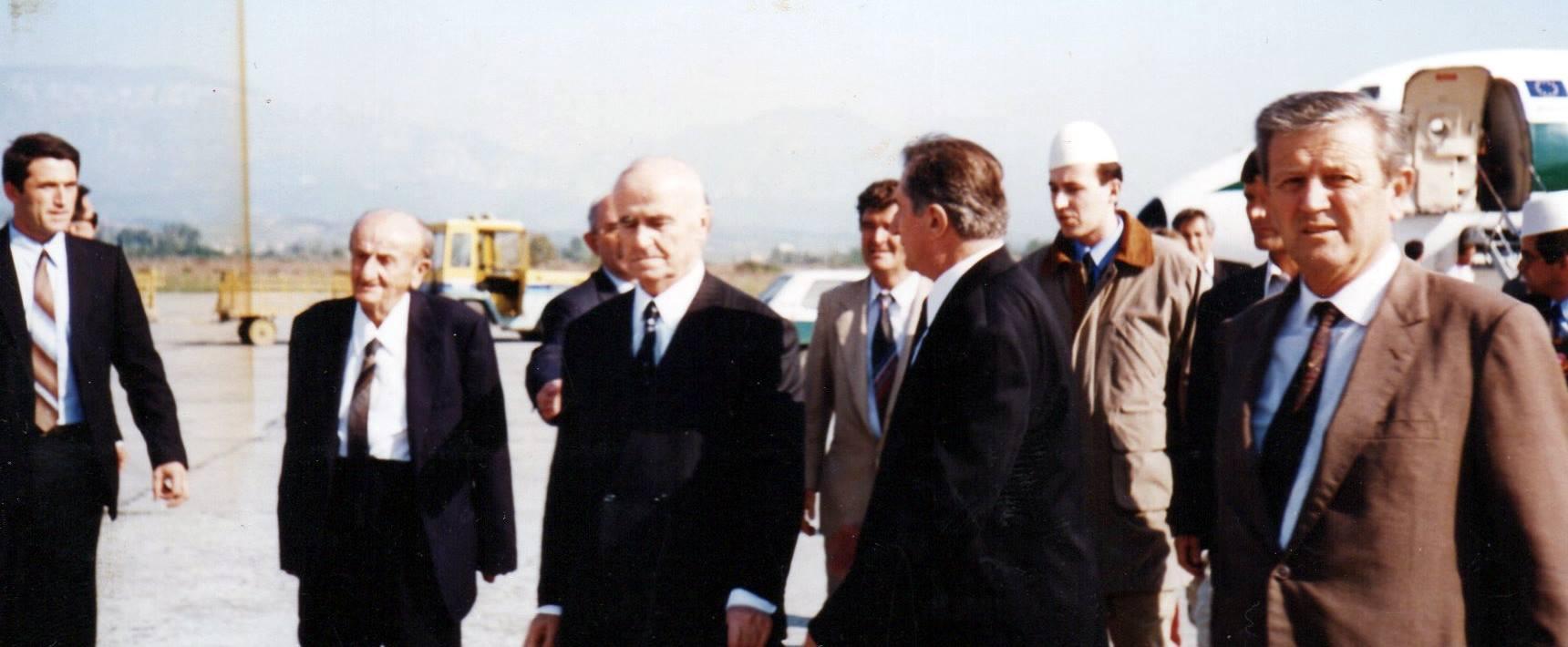 Kthimi i Abas Ermenjit në Shqipëri, viti 1995