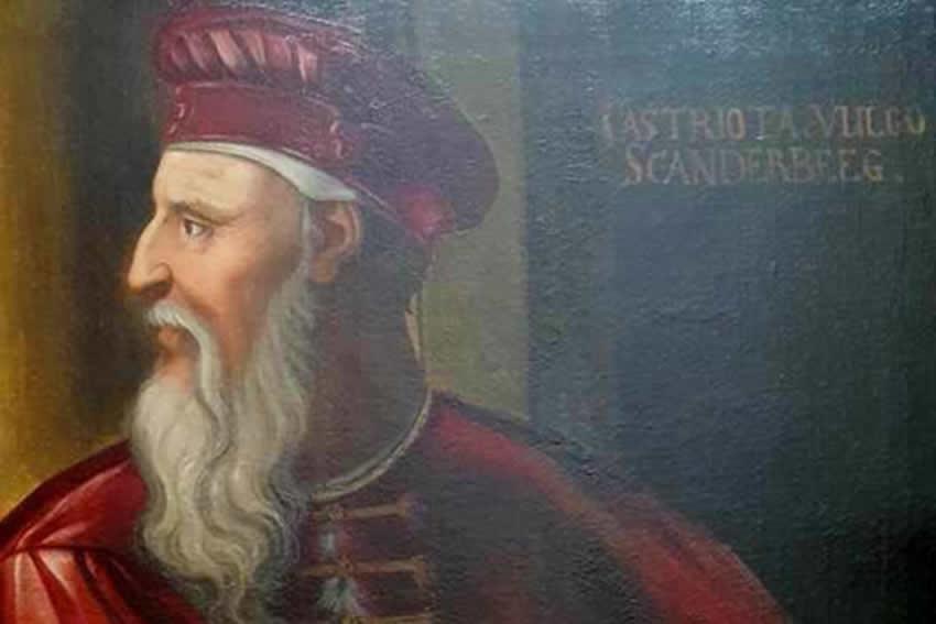 LETRA E SKËNDERBEUT E 31 TETORIT 1460, DËRGUAR PRINCIT TË TRENTIT, JOHANNES ANTONIUS DE URSINIS