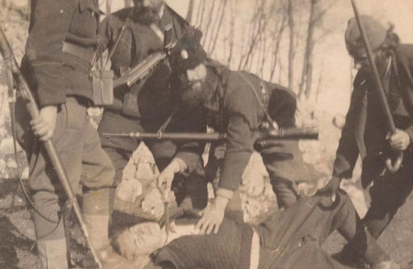 Barbarizmat sllave ndaj shqiptarëve