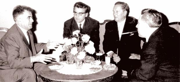 Jovan Veselinov, Dobrica Cosic, Josip Broz Tito dhe Aleksandar Rankoviç