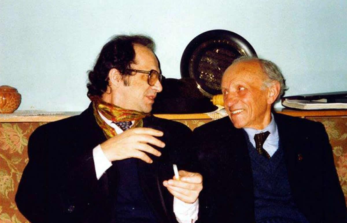 Ibrahim Rugova dhe Osman Kazazi