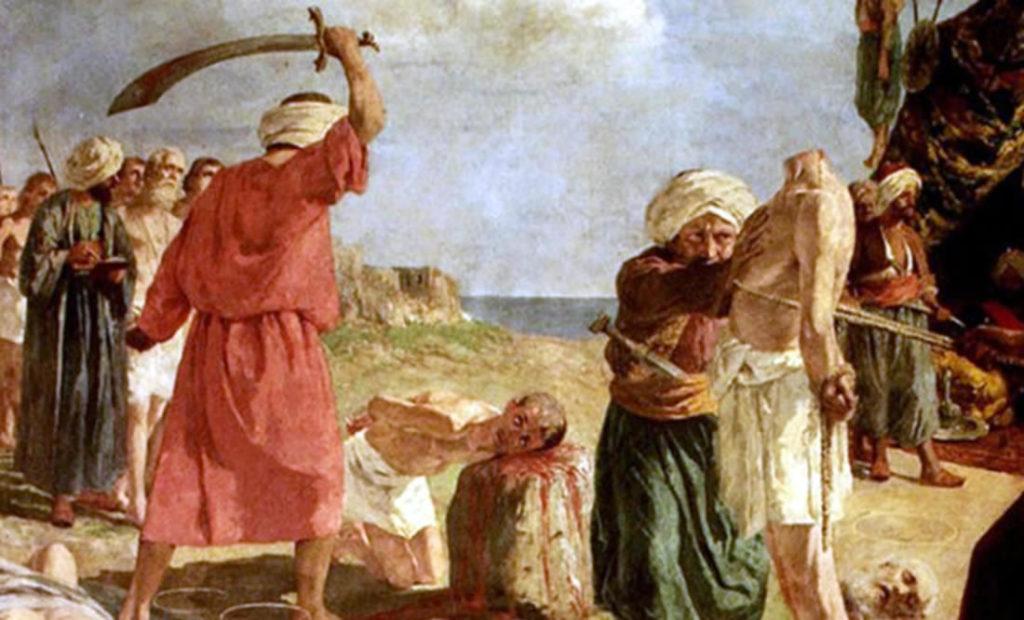 Shqiptarët, siç i pa At Faveyrial dhe konvertimet me dhunë nga osmanët