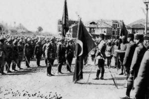Në betejën e Çanakalasë turqit me qëllim futën shqiptarët