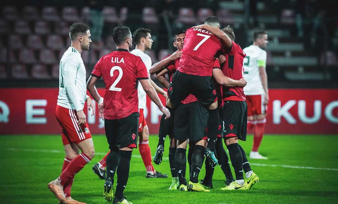 """Shqipëria fiton miqësoren ndaj Uellsit në """"Elbasan Arena"""""""