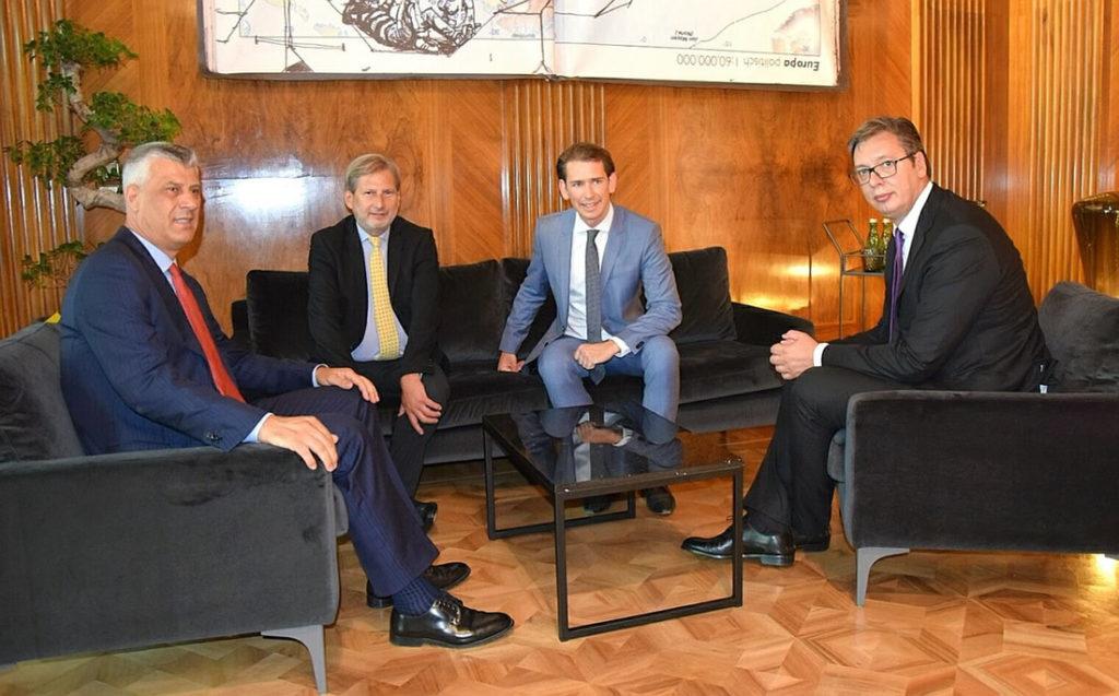 Edi Rama, Hashim Thaçi dhe Batoni punojnë për lidershipin rajonal të Serbisë