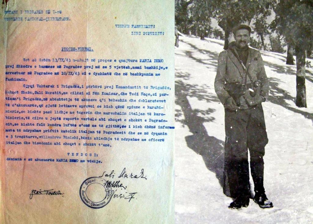 Dushan Mugosha jepte vendime me vdekje te brigada e parë komuniste, ja si u pushkatua mamia e Pogradecit