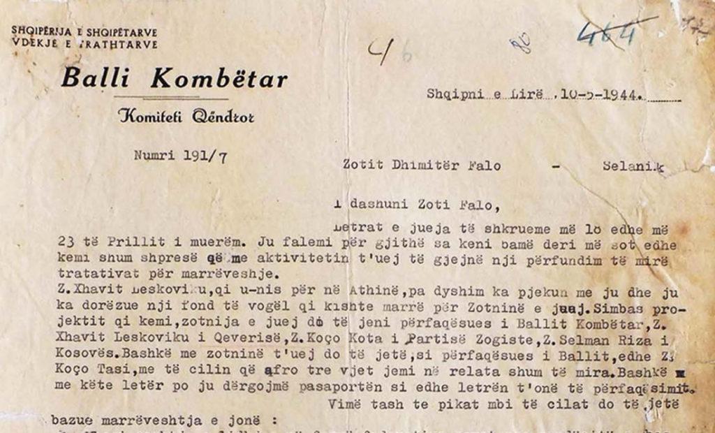 Autorizimi i Mit'hat Frashërit për Dh. Fallon: Greqia të kërkojë Kosovën për Shqipërinë