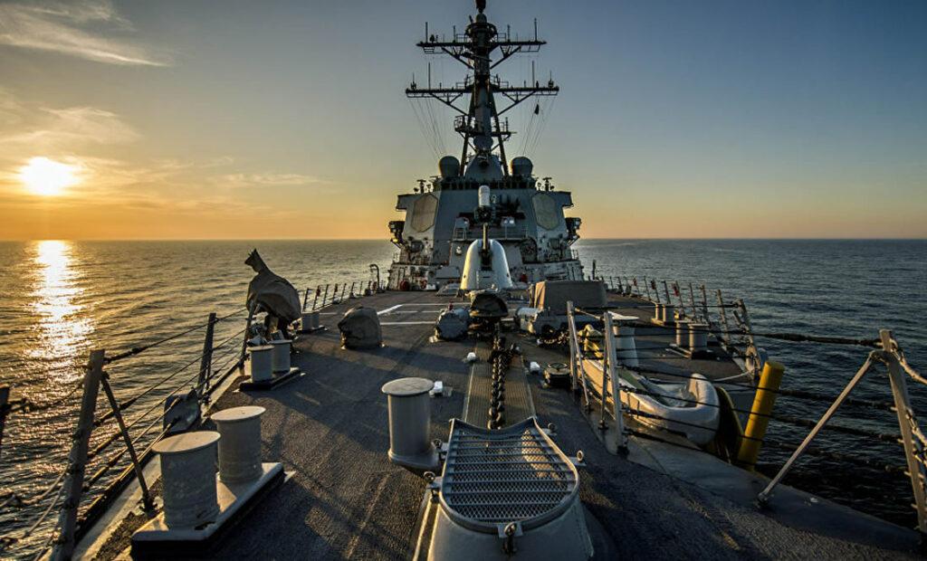 USS DONALD COOK KALON NGUSHTICËN E DARDANELEVE NË DREJTIM TË DETIT TË ZI