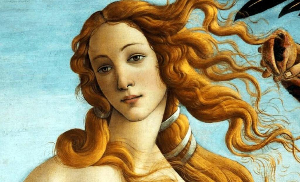 Afrodita, hyjneshë e dashurisë dhe e bukurisë, më e bukura prej të gjitha hyjneshave të miteve antike