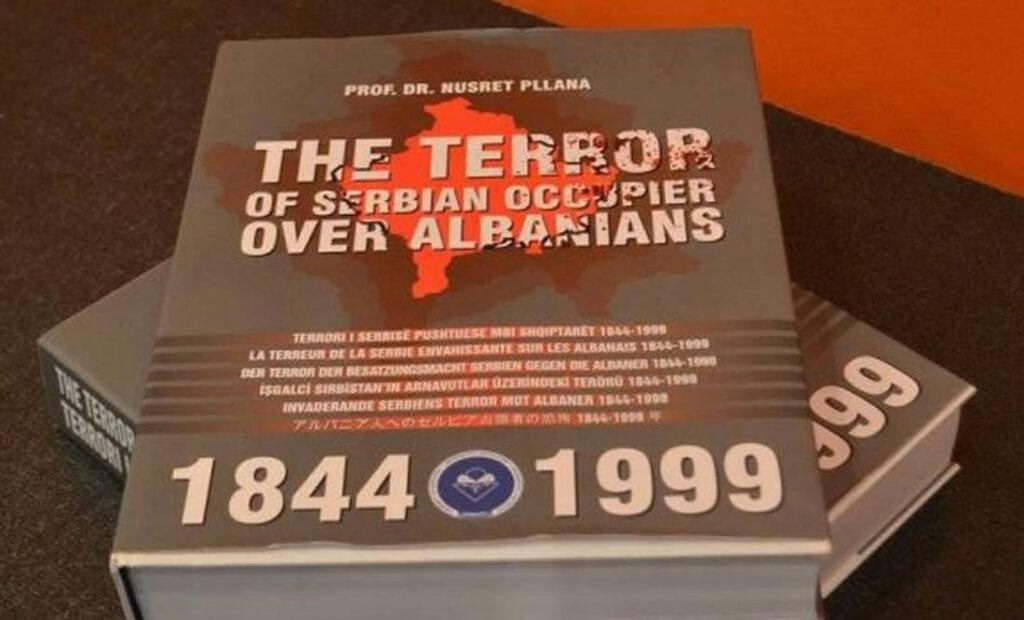 Librin e dëshmive për krimet serbe mbi shqiptarët MPJ e mbanë në bodrum