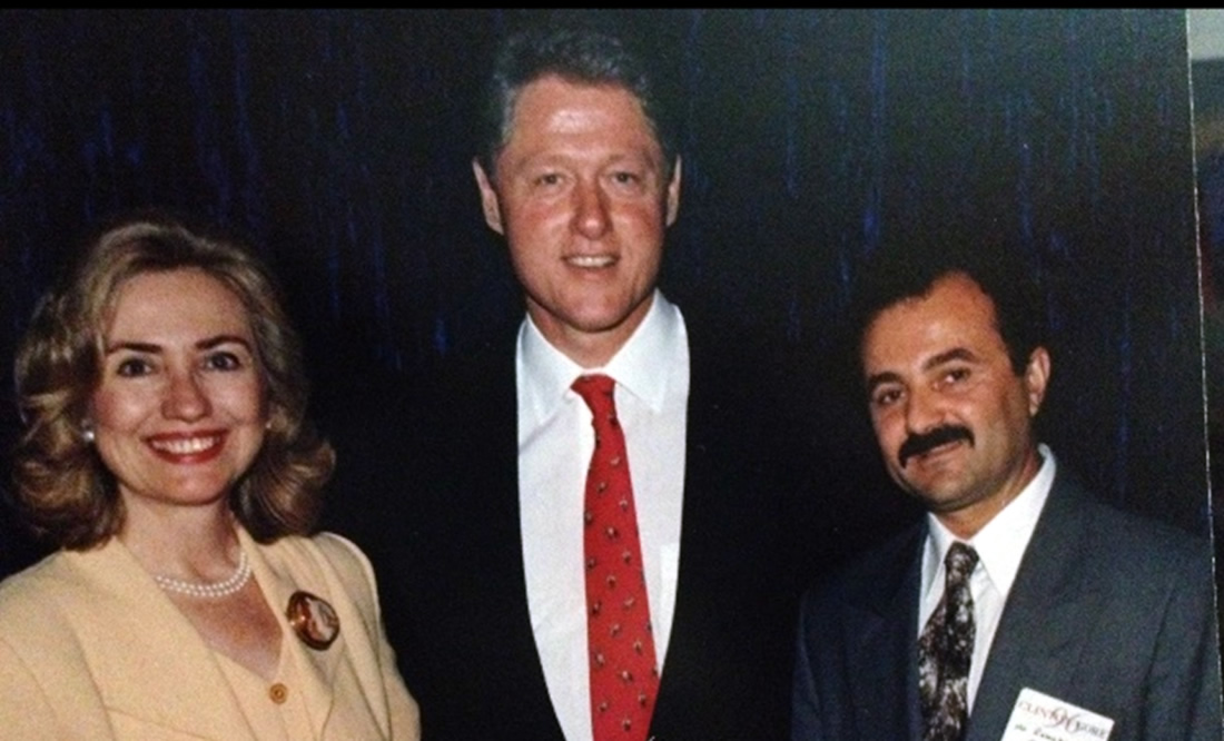H. Clinton, B. Clinton, R. Bekteshi