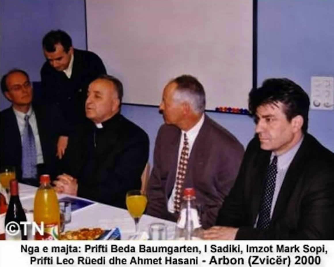 INTERVISTA E IMZOT MARK SOPIT NË ZVICËR – Arbon/TG, 1 Mars v. 2000