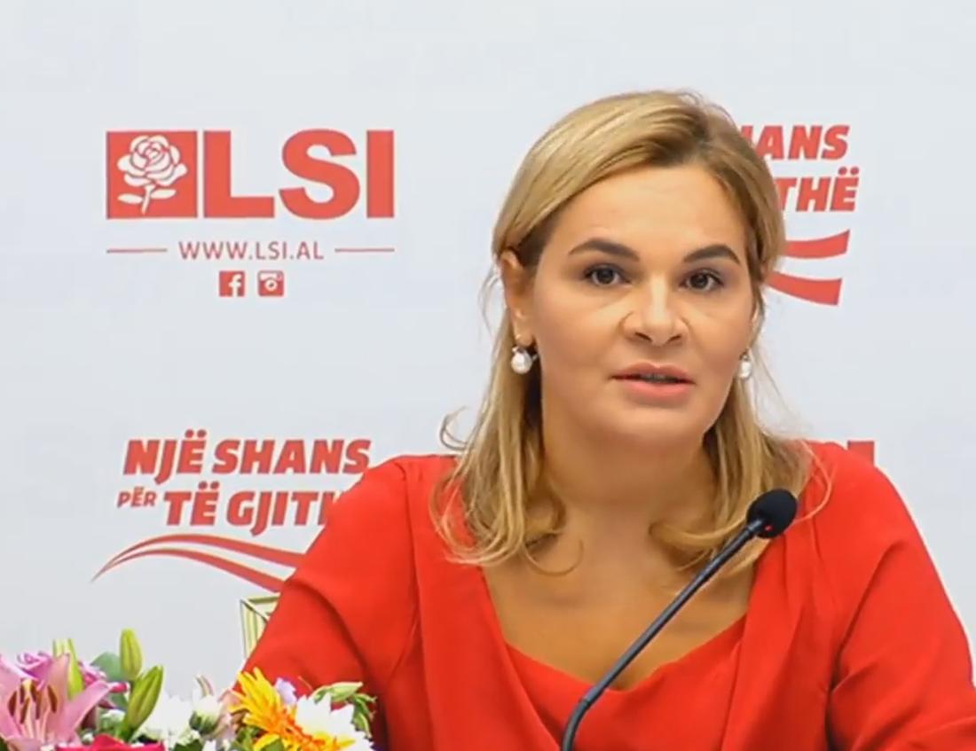 Monika Kryemadhi - Kryetare e LSI-se