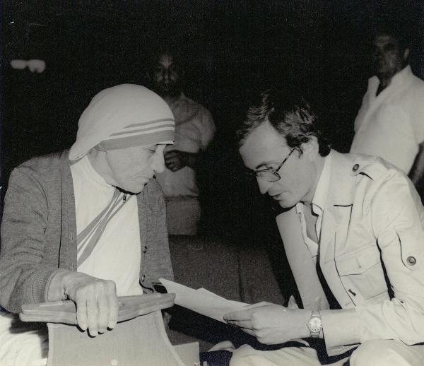 Intervista e Avni Spahiut me Nënë Tereze (Prishtinë, 26. 06. 1980).