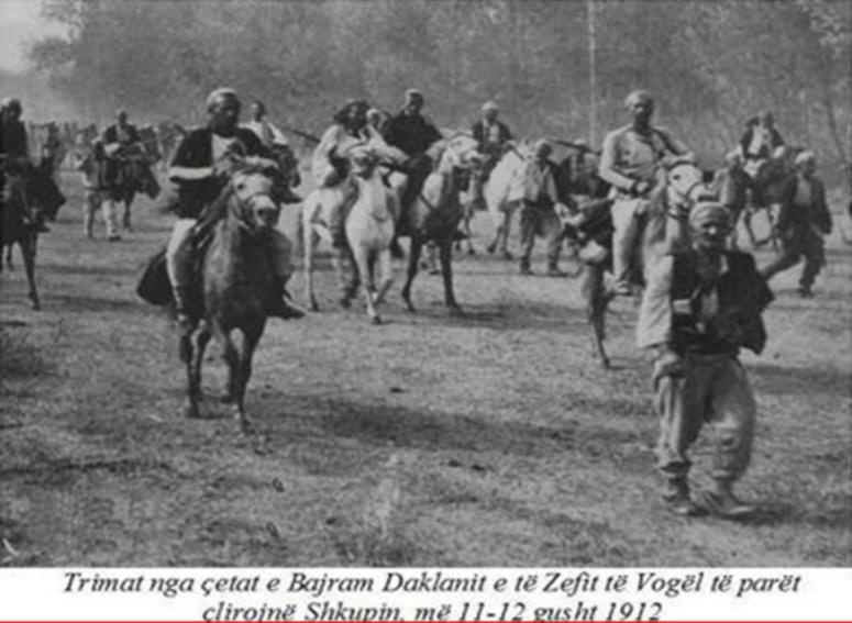 ÇLIRIMI I SHKUPIT NGA SHQIPTARËT, MË 11 GUSHT TË VITIT 1912