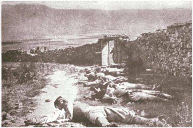 Foto 5. Dëshmi e masakrave të kryera në Preshevë gjatë vitit 1913