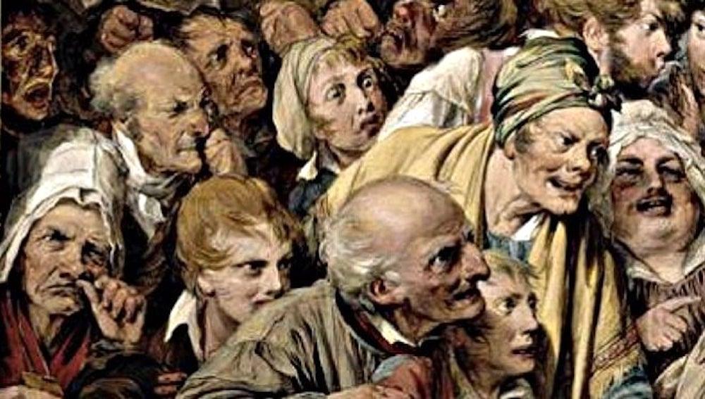 psikoza e turmës së hidhëruar