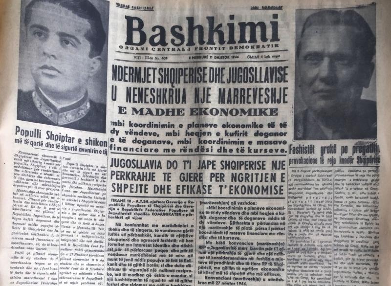 Marrëveshja e fshehtë e komunistëve me Jugosllavinë